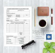 Monthly Expenses Excel Template Expense Report Sheet For Blank ...