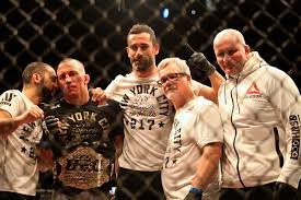 first le ufc welterweight chionship st pierre first won