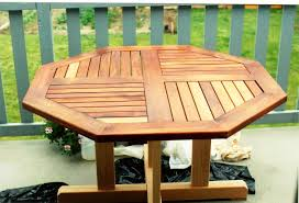 octagon patio table plans white benchmark octagon table