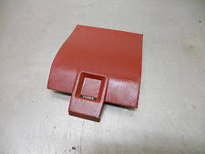 mustang dash fuse box cover 87 88 89 ford mustang gt lx lower red dash fuse box trim panel cover