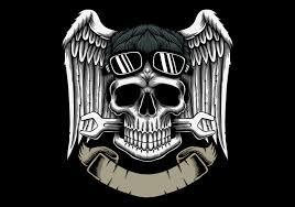 <b>Skull</b> With <b>Wings</b> Free Vector Art - (5,920 Free Downloads)
