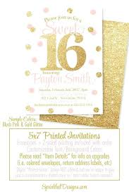 Online Graduation Party Invitations Order Graduation Party Invitations Online Sweet Pink And Gold