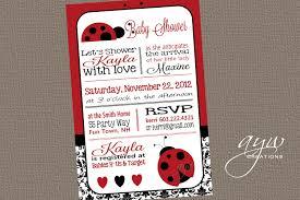 Ladybug Invitations Template Free 26 Fresh Ladybug Baby Shower Invitations Free Baby Shower