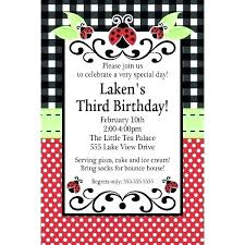 Ladybug Invitations Template Free Ladybug Invite Invitations Free Printable Assa Me