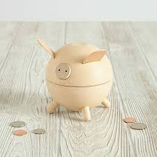 Piggy Banks Natrual