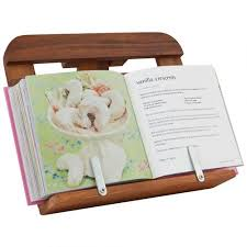howards storage world davis waddell acacia wood recipe book holder