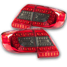 FIT 2011-2013 Toyota Corolla Altis Led Rear Tail light Lamps Red ...