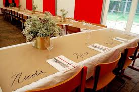 home appealing kraft tablecloth 19 pic of outstanding paper table covering ideas the bright blog that