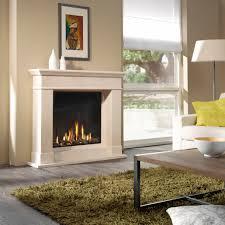 Artisan Optica Glass Fronted Gas Fire Artisan Fireplace Design Ltd .