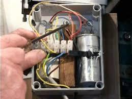 single phase motor connection youtube single phase motor wiring diagram single phase motor connection