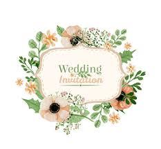 watercolor flower wedding invitations vector graphics my free Wedding Invitations With Graphics watercolor flower wedding invitations vector graphics Wedding Background Graphics