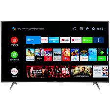 Android Tivi Sony 4K 55 inch KD-55X8050H - Hệ điều hành Android 9.0 ,  Remote thông minh , Độ phân giải Ultra HD 4K