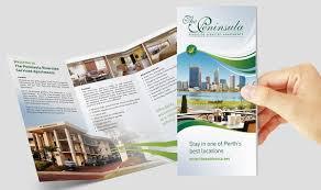 apartment brochure design. 10. Square Brochure Design Apartment
