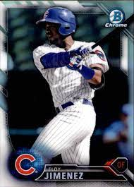 I was at the black out game, and i was at last nights game. Buy Eloy Jimenez Cards Online Eloy Jimenez Baseball Price Guide Beckett