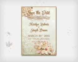 Announcement Cards Wedding Printable Save The Date Card Wedding Date Announcement Card