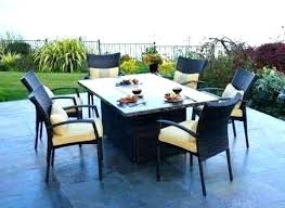 outdoor dining table with fire pit dining table fire pit dining table set fire pits modern