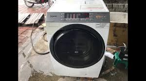 Máy giặt PANASONIC VX5300R đời 2014 giặt 9kg sấy 6kg hiệu quả - YouTube
