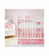awesome new arrivals zig zag pink sugar 3 piece ba crib bedding set 3 piece baby bedding sets remodel