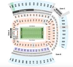 Heinz Field Virtual Seating Chart Heinz Field Seating Chart Section Row Seat Number Info
