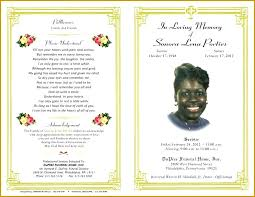 Word Obituary Templates Business Microsoft Template Free Office
