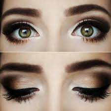 a warm chocolate smokey eye look perfect fall makeup this would look pretty with any eye color