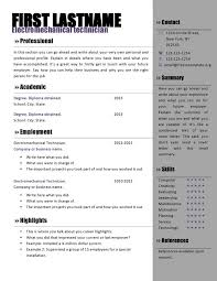 Resume Microsoft Word Templates
