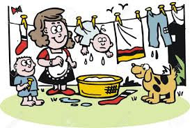 Image result for washing images cartoon
