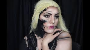 broken doll makeup 13 day of 2017