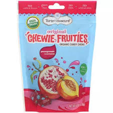 Torie Howard <b>Organic Candy Chews</b> Pomegranate&Nectarine