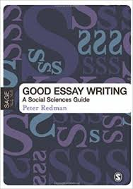 com good essay writing a social sciences guide published  com good essay writing a social sciences guide published in association the open university 9781412920117 peter redman books