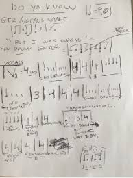 How To Write A Fast And Easy Drum Chart How To Make A Quick And Easy Drum Chart Bang The Drum School