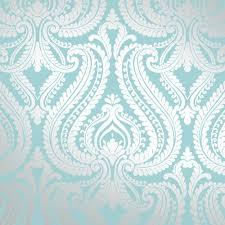Patterned Wallpaper Magnificent BlueTeal Patterned Wallpaper