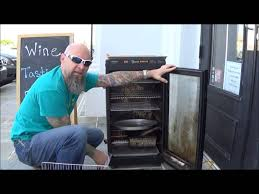 paul uses the cajun injector electric smoker to do smoked salmon