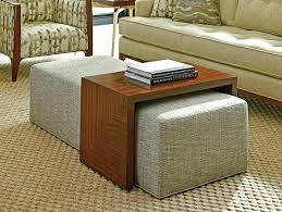 coffee table with ottoman seating awesome round coffee table with coffee table with ottoman seating coffee