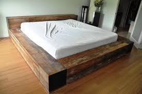 Gorgeous Homemade Platform Bed 9 Build Platform Bed Cheap Homemade Wood  Platform Bed