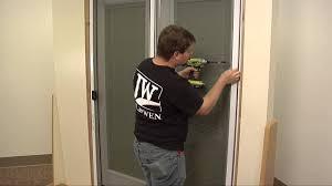 sliding screen doors. How To Install A Sliding Screen Door Doors