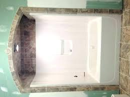 one piece bathtub shower combo tile shower tub combo