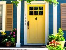 exterior door paint colors13 Favorite Front Door Colors  HGTV