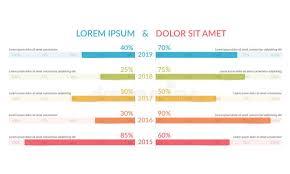 Stock Comparison Chart Comparison Chart Vector Stock Illustrations 2 429
