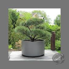 extra large round outdoor planter pot  diameter  stardust