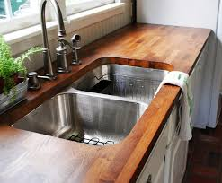 reclaimed wood countertops diy