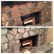 fireplace stones rock fireplace rocks stones rock fireplaces and on painted fireplace i updated our last