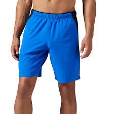 reebok 117927. reebok - workout ready woven short vital blue bq6142 117927