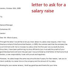 pay raise letter samples brilliant ideas of sample letter to request salary increase in pay