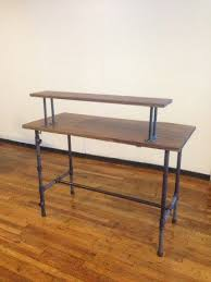 diy standing desk pipe. Wonderful Standing Our Complete Steel Pipe Standing Desk Diy Office Desk  Spaces Intended Standing Desk Pipe D