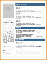 Template Resume Format Free Download In Ms Word Top Resume