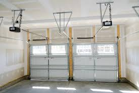 modern torsion spring garage door