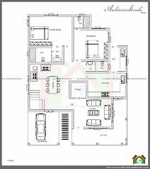 ... House Plan For South Facing Plot With Two Bedrooms Inspirational  Phenomenal 4 Bedroom House Plans With ...