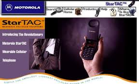 first motorola startac. the popularity continued later in year when motorola launched a version of startac that worked on then-new gsm phone standard, first startac