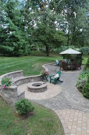 patio pavers with fire pit. Landscaping · Paver Patio With Fire Pit Pavers U